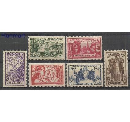 Znaczek Gwadelupa 1937 Mi 137-142 Czyste **