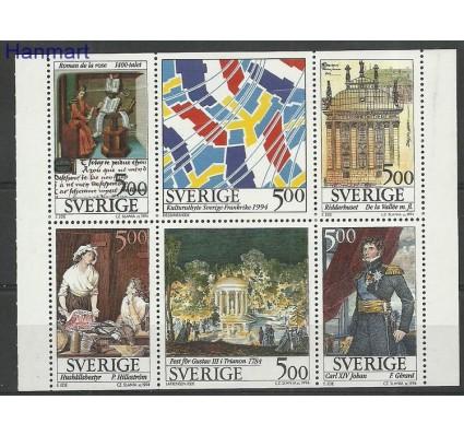 Znaczek Szwecja 1994 Mi h-blatt 218 Czyste **