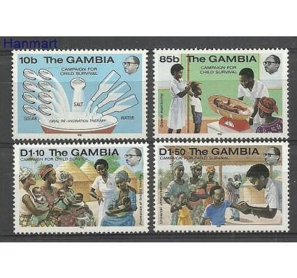 Znaczek Gambia 1985 Mi 549-552 Czyste **