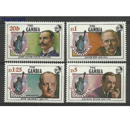 Gambia 1986 Mi 636-639 Czyste **