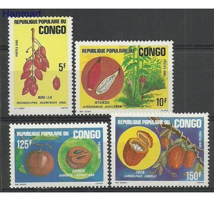Znaczek Kongo 1985 Mi 1001-1004 Czyste **