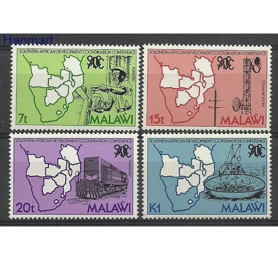 Malawi 1985 Mi 445-448 Czyste **