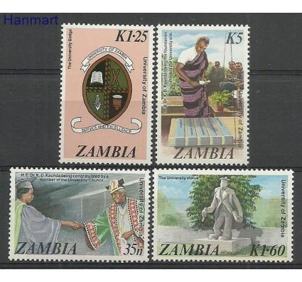 Znaczek Zambia 1987 Mi 377-380 Czyste **