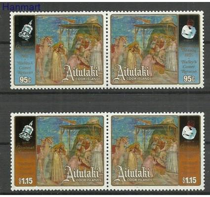 Znaczek Aitutaki 1985 Mi par570-573 Czyste **