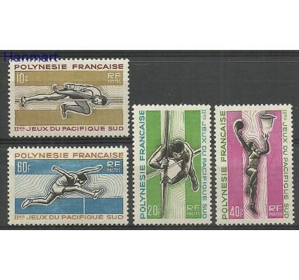 Polinezja Francuska 1966 Mi 63-66 Czyste **