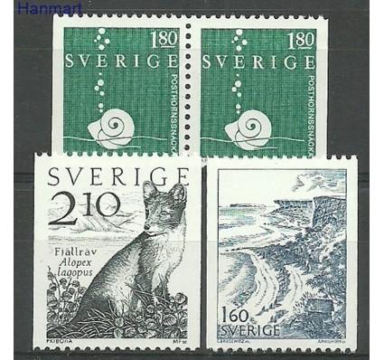 Szwecja 1983 Mi 1246-1248c,dl,dr Czyste **