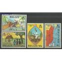 Belize 1975 Mi 353-356 Czyste **