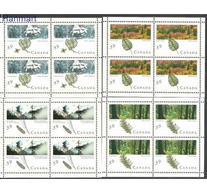 Znaczek Kanada 1990 Mi ark 1191-1194 Czyste **