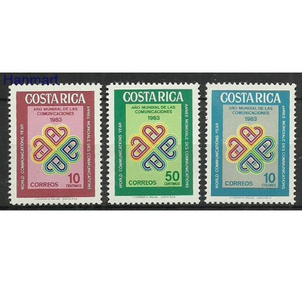 Znaczek Kostaryka 1983 Mi 1196-1198 Czyste **