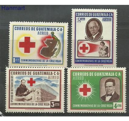 Znaczek Gwatemala 1958 Mi 611-614 Czyste **