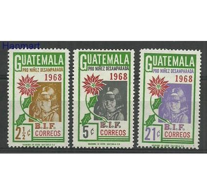 Znaczek Gwatemala 1969 Mi 859-861 Czyste **