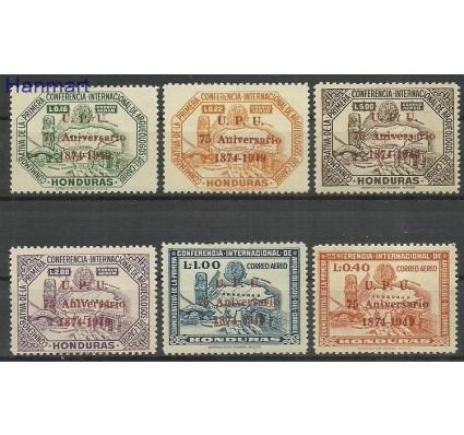 Znaczek Honduras 1951 Mi 462-467 Czyste **