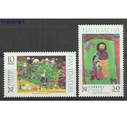 Znaczek Chile 1983 Mi 1027-1028 Czyste **