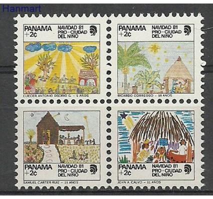 Znaczek Panama 1981 Mi zwavie94-97 Czyste **