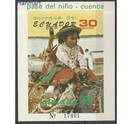 Znaczek Ekwador 1985 Mi bl 121 Czyste **
