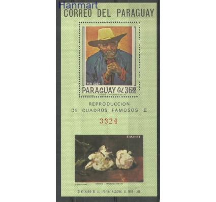 Znaczek Paragwaj 1967 Mi bl101 Czyste **