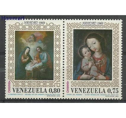 Znaczek Wenezuela 1969 Mi par1812-1813b Czyste **