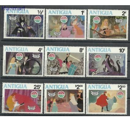 Znaczek Antigua i Barbuda 1980 Mi 597-605 Czyste **