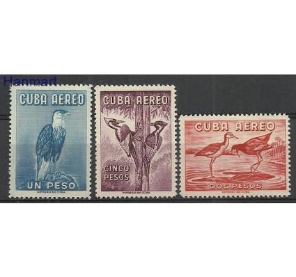 Znaczek Kuba 1962 Mi 768-770 Z podlepką *
