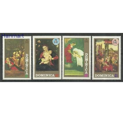 Znaczek Dominika 1972 Mi 350-353 Czyste **