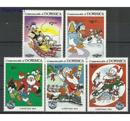 Znaczek Dominika 1984 Mi 894-898 Czyste **