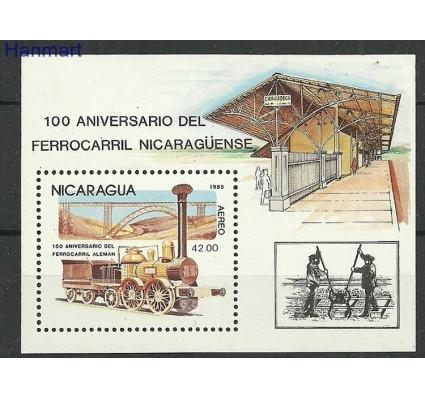 Znaczek Nikaragua 1985 Mi bl165 Czyste **