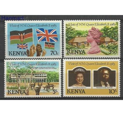 Znaczek Kenia 1983 Mi 274-277 Czyste **