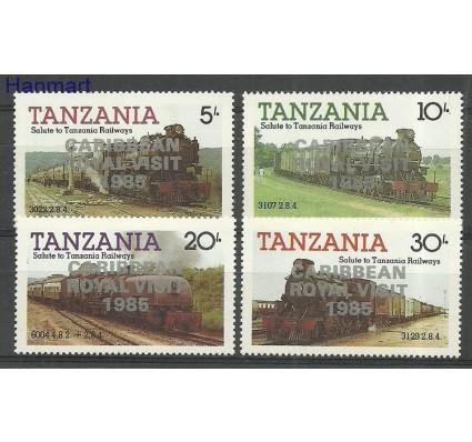 Znaczek Tanzania 1986 Mi 293+295+301+303 Czyste **