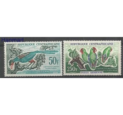 Znaczek Republika Środkowoafrykańska 1962 Mi 31-32 Z podlepką *