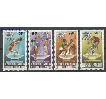 Znaczek Kamerun 1984 Mi 1036-1039 Czyste **