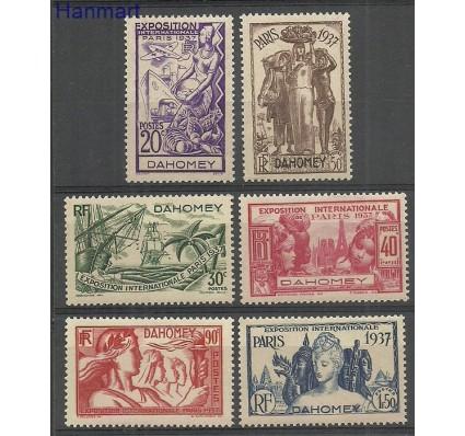 Znaczek Dahomej 1937 Mi 96-101 Czyste **