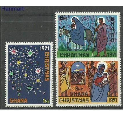 Znaczek Ghana 1971 Mi 443-445 Czyste **