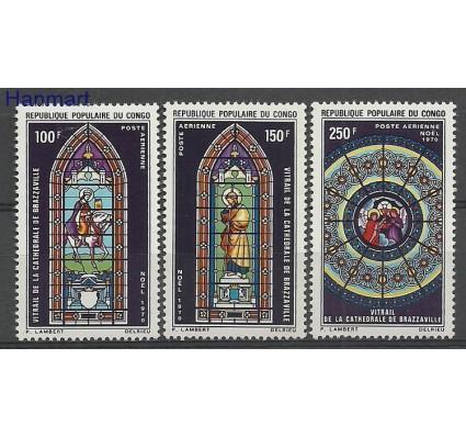 Znaczek Kongo 1970 Mi 269-271 Czyste **