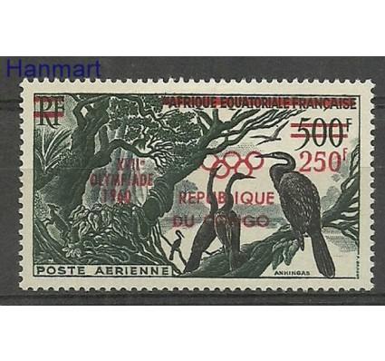 Znaczek Kongo 1960 Mi 3 Z podlepką *