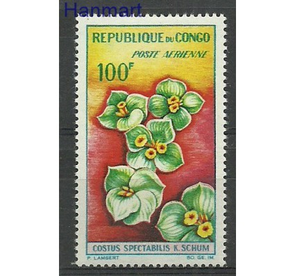 Znaczek Kongo 1963 Mi 28 Z podlepką *