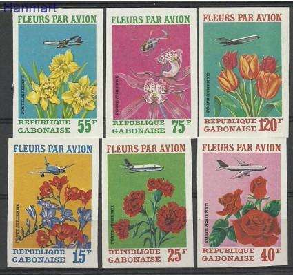 Gabon 1971 Mi 425-430B Czyste **