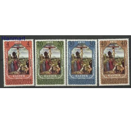 Znaczek St. Christopher Nevis Anguilla 1972 Mi 241-244 Czyste **