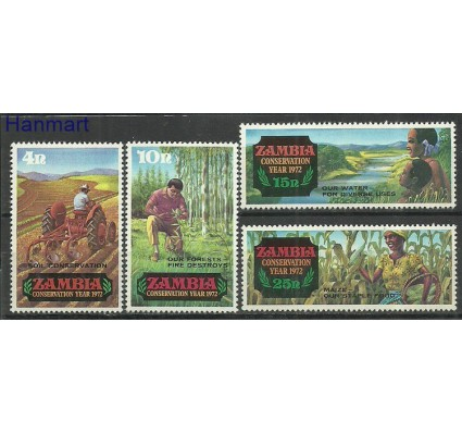 Znaczek Zambia 1972 Mi 81-84 Czyste **