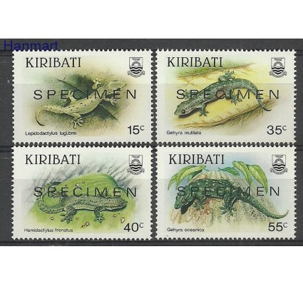 Znaczek Kiribati 1987 Mi spe493-496 Czyste **