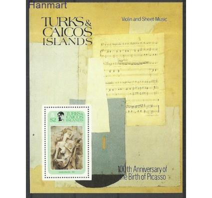 Znaczek Turks i Caicos 1981 Mi bl31 Czyste **
