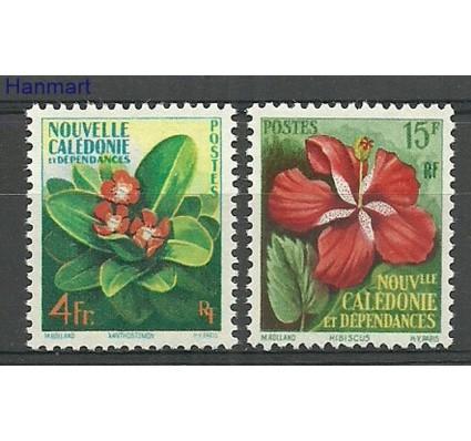Znaczek Nowa Kaledonia 1958 Mi 361-362 Z podlepką *