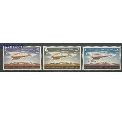 Znaczek Jemen Królestwo 1965 Mi 165-167 Z podlepką *