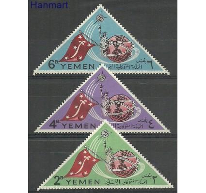 Znaczek Jemen Królestwo 1965 Mi 188-190 Z podlepką *