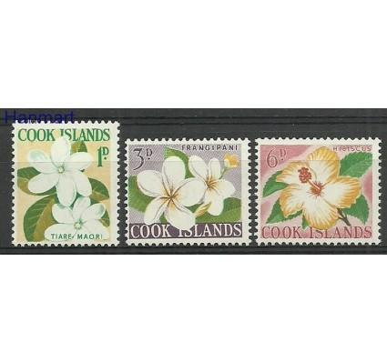 Znaczek Wyspy Cooka 1963 Mi 93+95+97 Czyste **