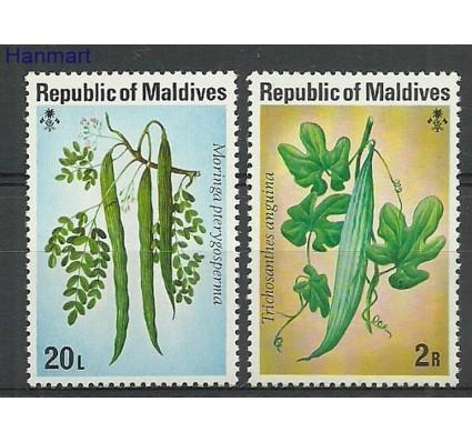 Malediwy 1977 Mi 687-688 Czyste **