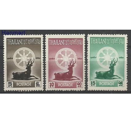 Znaczek Tajlandia 1957 Mi 331-333 Czyste **