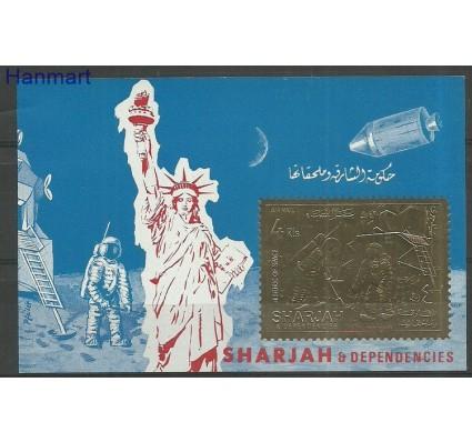 Znaczek Sharjah 1970 Mi bl70B Czyste **