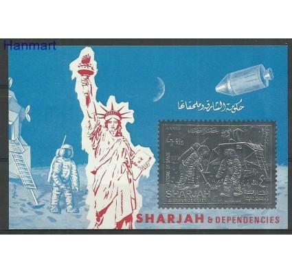 Znaczek Sharjah 1970 Mi blA69B Czyste **