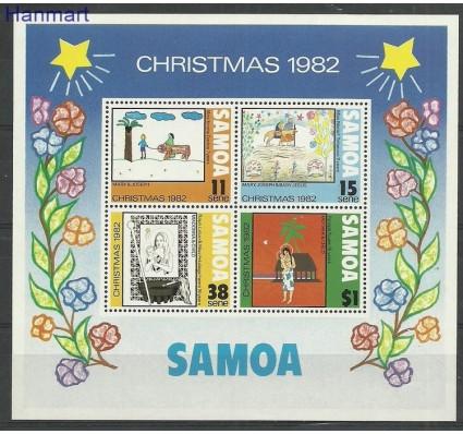 Znaczek Samoa i Sisifo 1982 Mi bl29 Czyste **