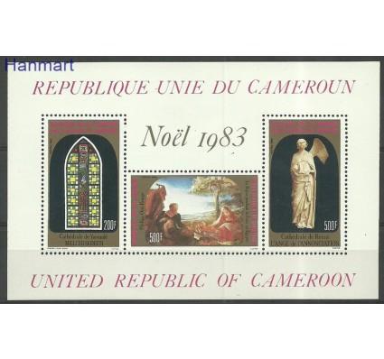 Znaczek Kamerun 1983 Mi bl21 Czyste **
